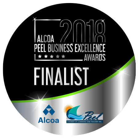 2018 Alcoa Peel Business Excellence Awards Finalist !