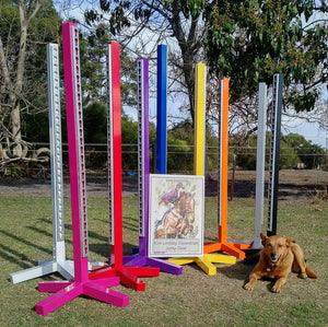 Jump Stands aluminium powder coated