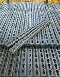 Keyhole Jump Strips - Galvanised Steel (each)