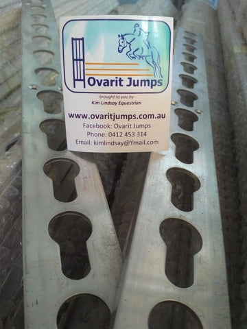Keyhole Jump Strip Pack - 52cm - Aluminium - out of stock - please see Galvanised pack
