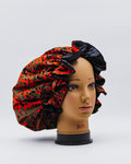 MALIA REVERSIBLE SATIN  HAIR BONNET