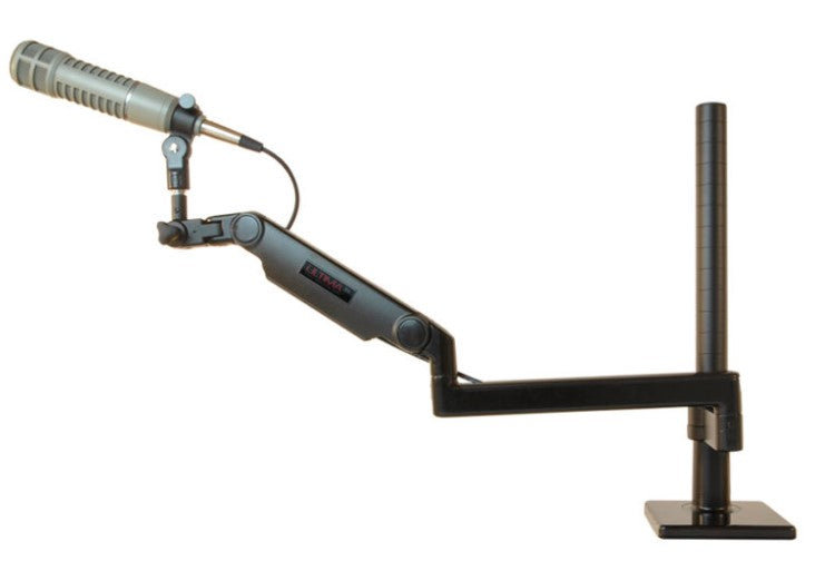 ProBoom® Ultima® Gen2 Ultra Low Profile Adjustable Mic Boom – 12″ Riser (ULP-12MA-13)