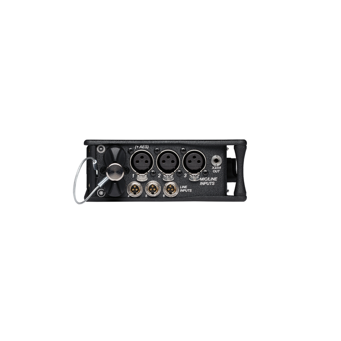633 Six-Input Compact Mixer with 10-Track Recorder