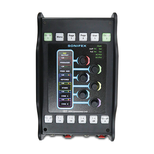 Dante® AoIP Portable Commentator Unit
