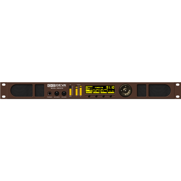 DB3010 FM Radio & IP Audio Confidence Monitoring Receiver