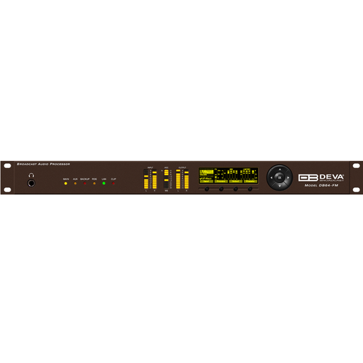 DB64-FM 4-Band Broadcast Audio Processor with RDS/RBDS Encoder