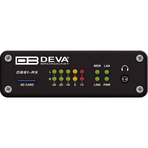 DB91-RX Compact IP Audio Decoder