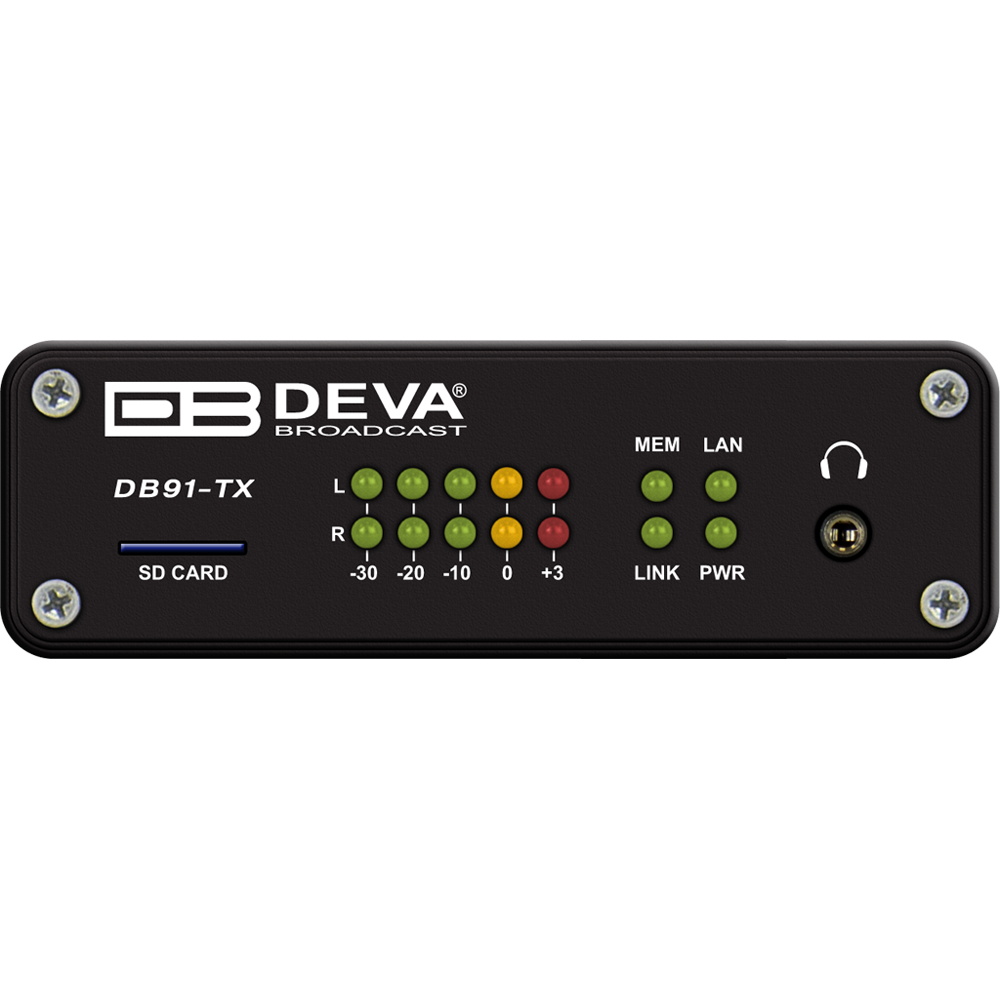 DB91-TX Compact IP Audio Encoder