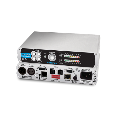 DHY-04 Single Automatic Digital TBU, AES/EBU & Analogue I/O With Ethernet