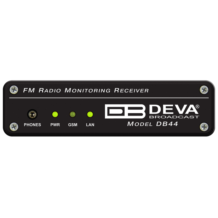 DB44 Compact FM Radio Monitoring Receiver