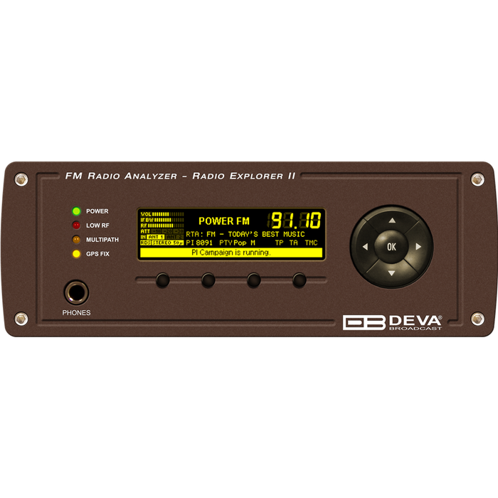 Radio Explorer II Mobile FM Radio Analyzer