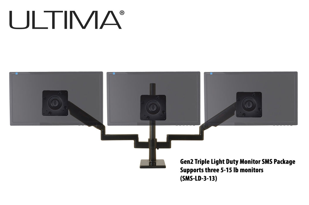ProBoom® Ultima® Gen2 Triple Monitor SMS Package (SMS-LD-3-13)
