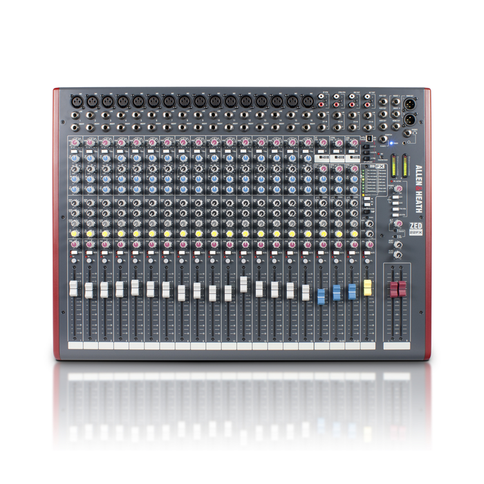 ZED-22FX Mixer with USB and Effects