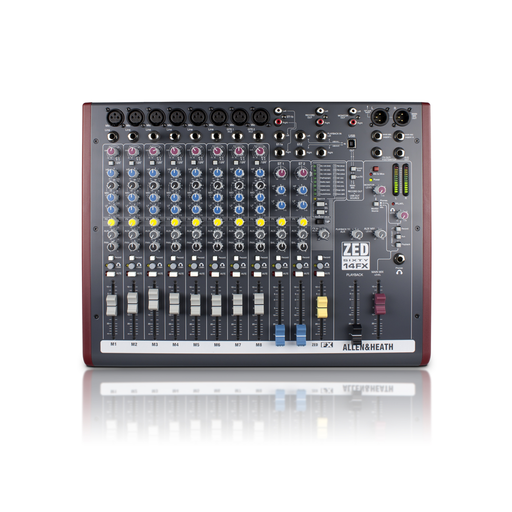 ZED60-14FX Live and Studio Mixer with Digital FX and USB Connection
