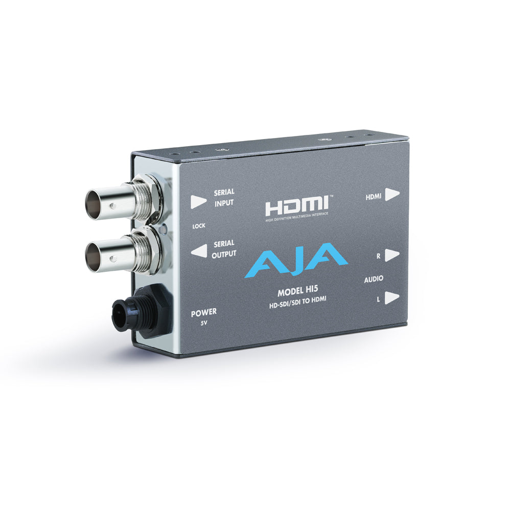 Hi5 HD-SDI/SDI to HDMI Video and Audio Converter
