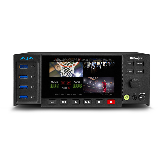 Ki Pro GO Portable Multichannel H.264 USB 3.0 Recorder/Player