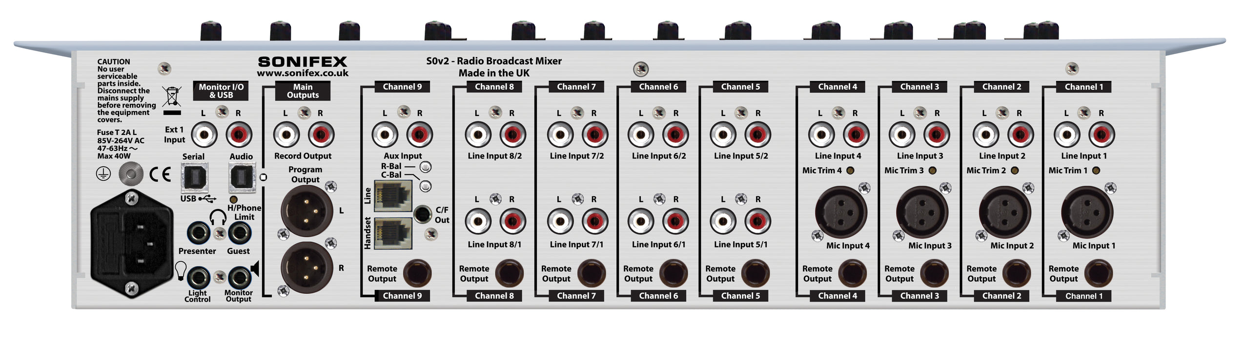 S0v2 Radio Broadcast Mixer
