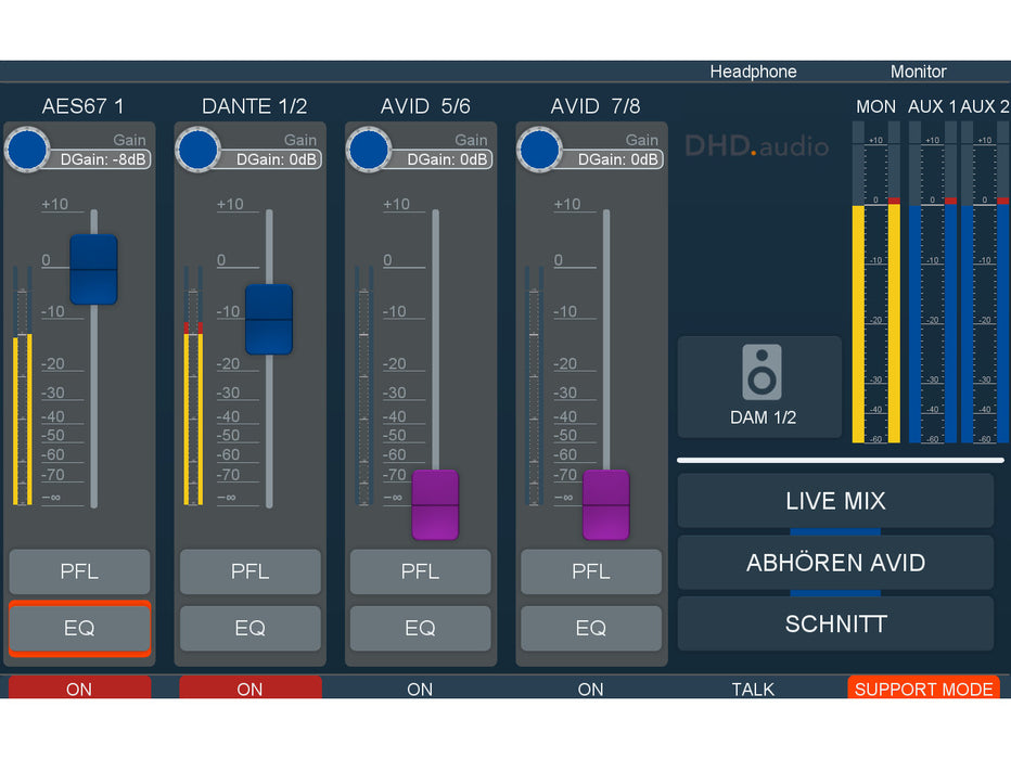 DHD Audio - View Apps