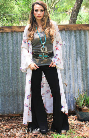 Take No Bull Bell Sleeve Duster