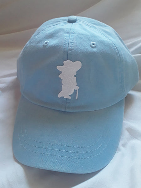 Pigment Dyed Washed Cotton Baseball Cap (Ghost)