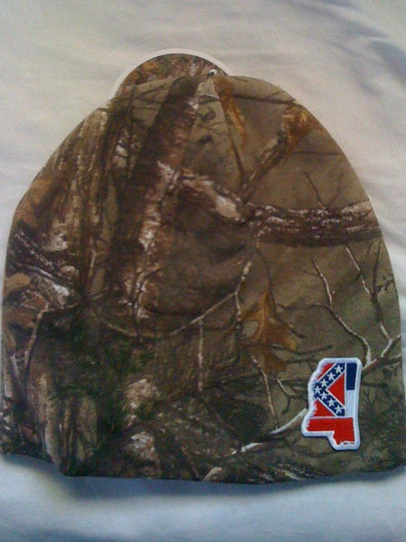 Camouflage Knit Beanie (MS Flag)