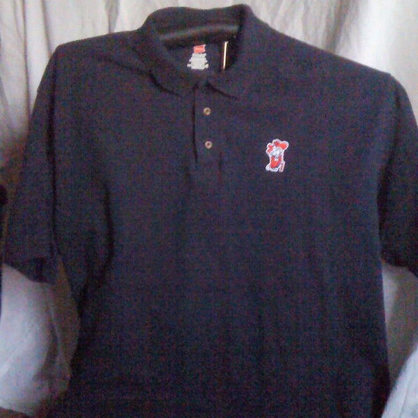 Finz up! Game Day 100% Cotton Polo