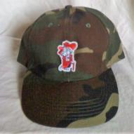 Finz up! Camo Colors Cotton Baseball Cap