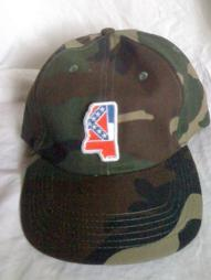 Camo Colors Cotton Baseball Cap  (MS)
