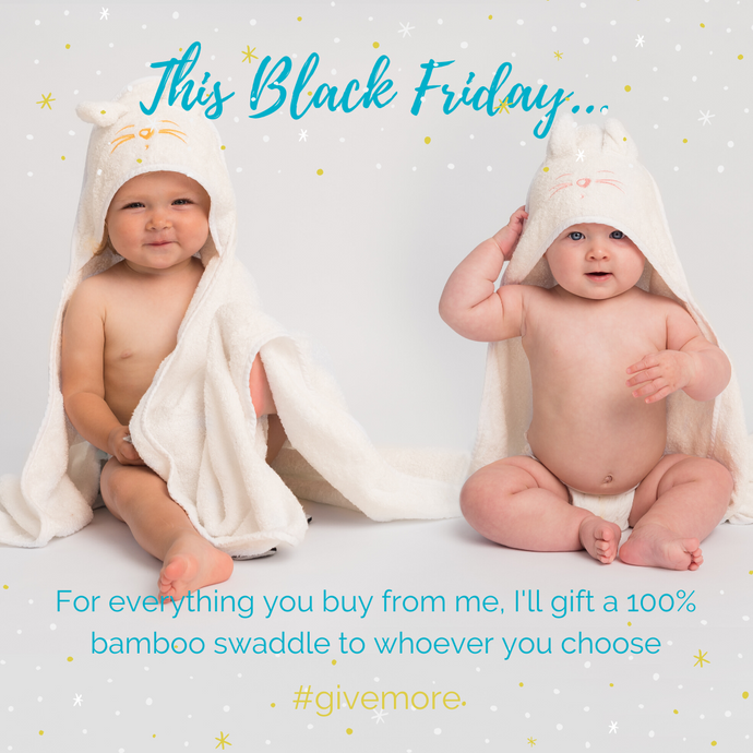 Give more this Black Friday
