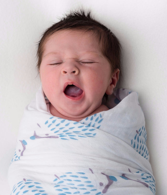 FREE swaddling guide - to help your baby (and you!) get more sleep
