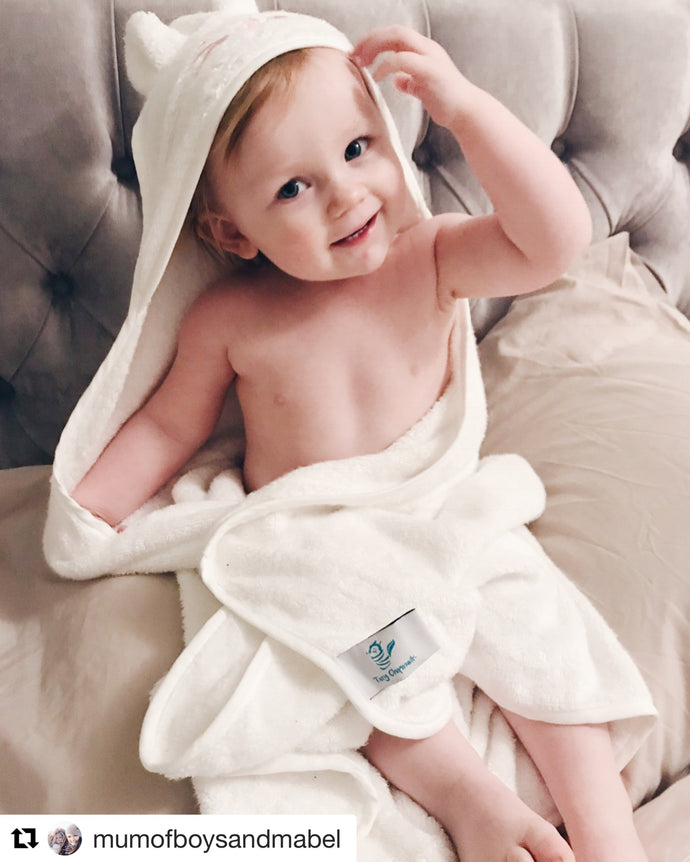 Mum of Boys & Mabel loves our towels!