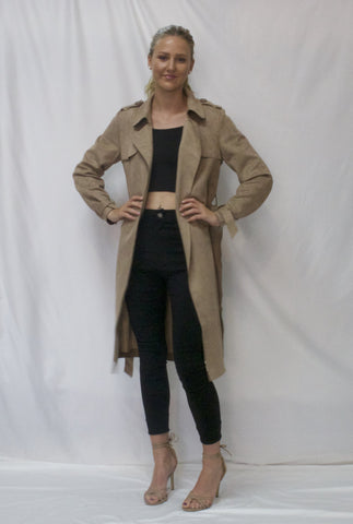 Hazel Coat Tan