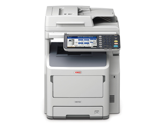 OKI MB760DFN A4 Mono MFP Printer