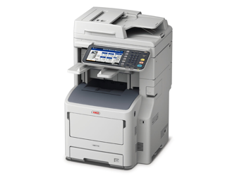 OKI MB770DFN A4 Mono MFP Printer