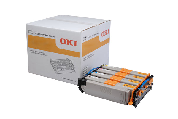 OKI MC363dn Image Drum Black (30,000 Pages), CMY (20,000 Pages) 44968302