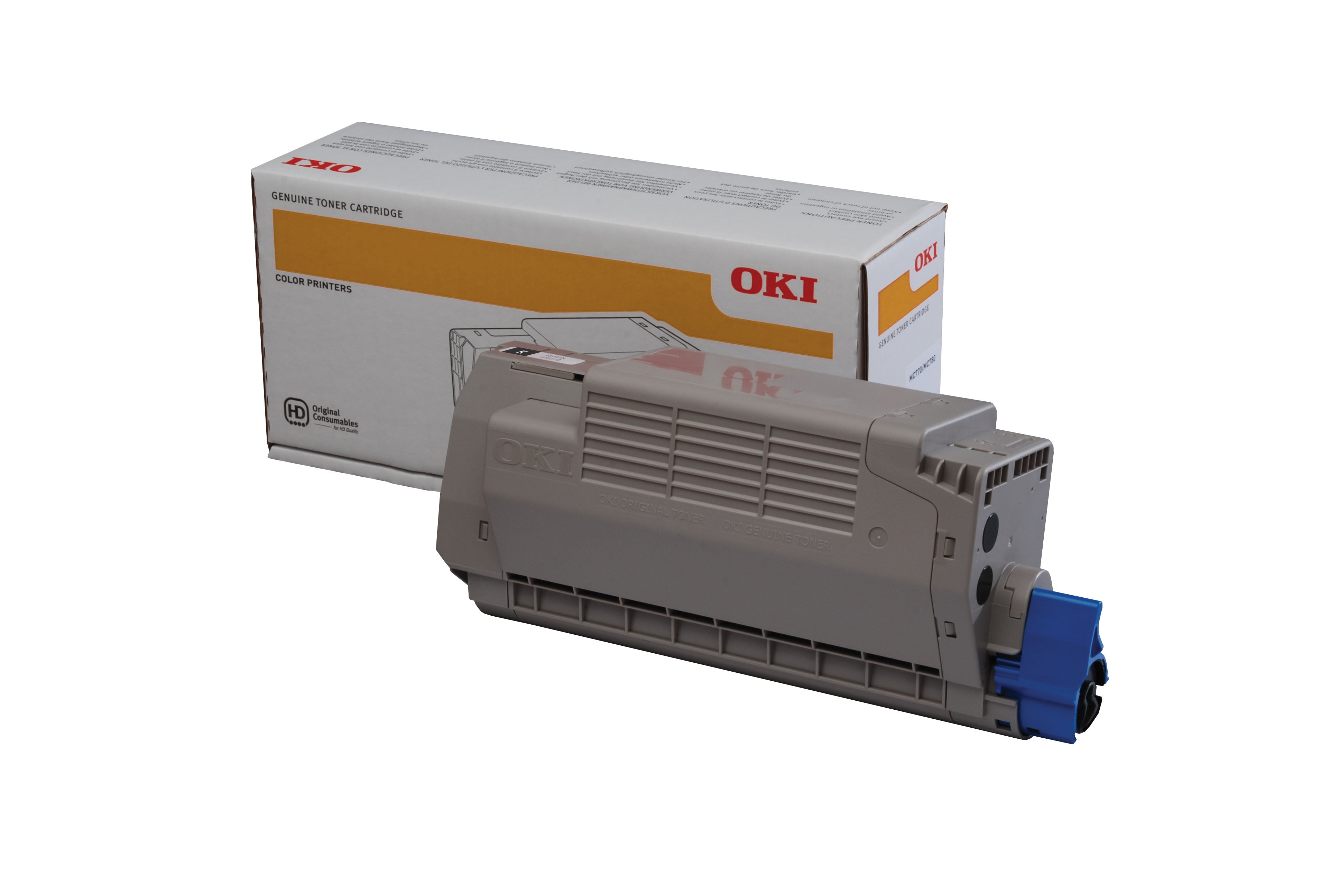 OKI MC780dfn Yellow Toner (11,500 pages) 45396205