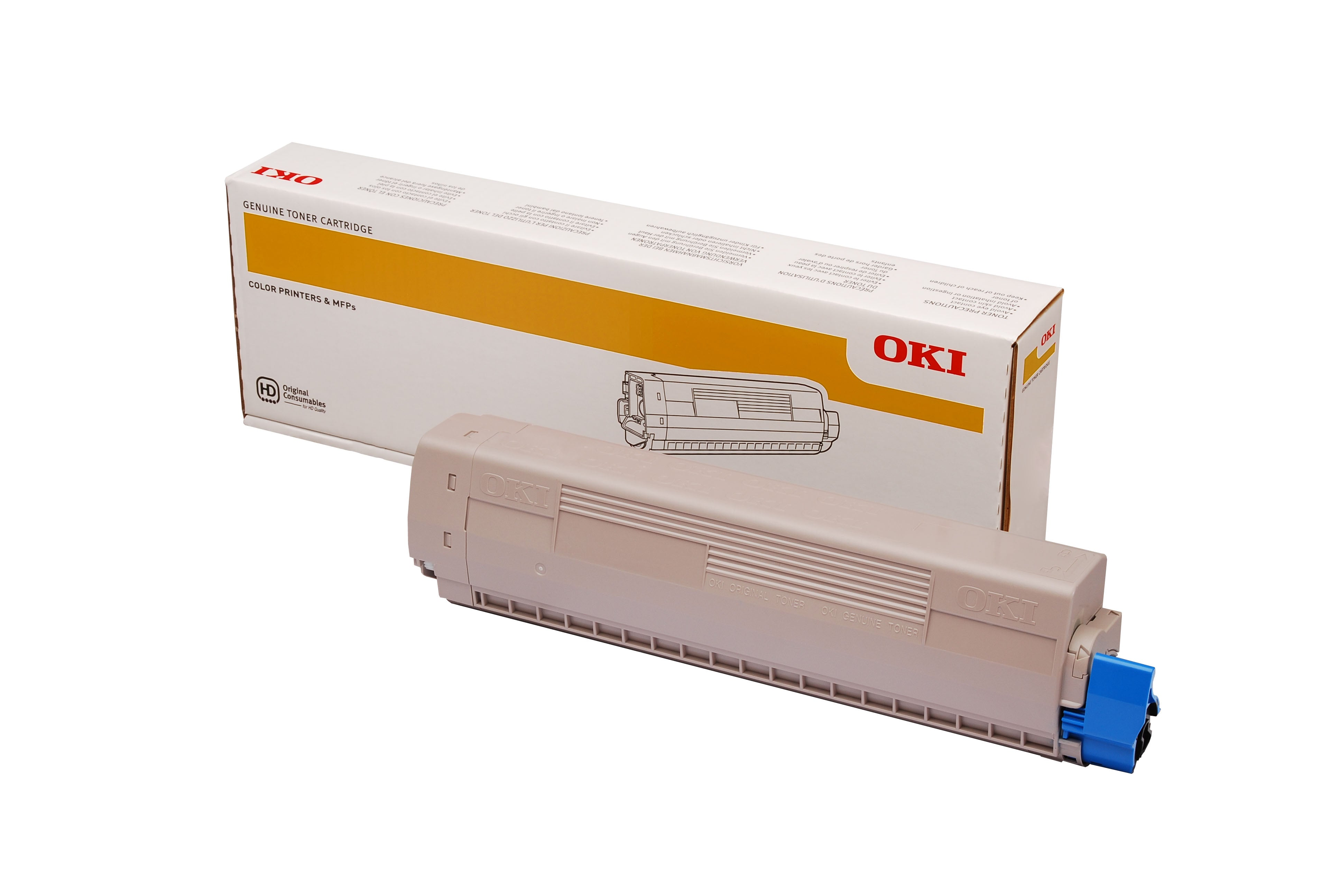 OKI MC853dn CyanToner (7,300 Pages) 45862843