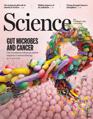 <Science> Gut microbes and Cancer <科學>期刊 腸道微生物與癌症