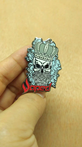 VAPED Skull Enamel Pin