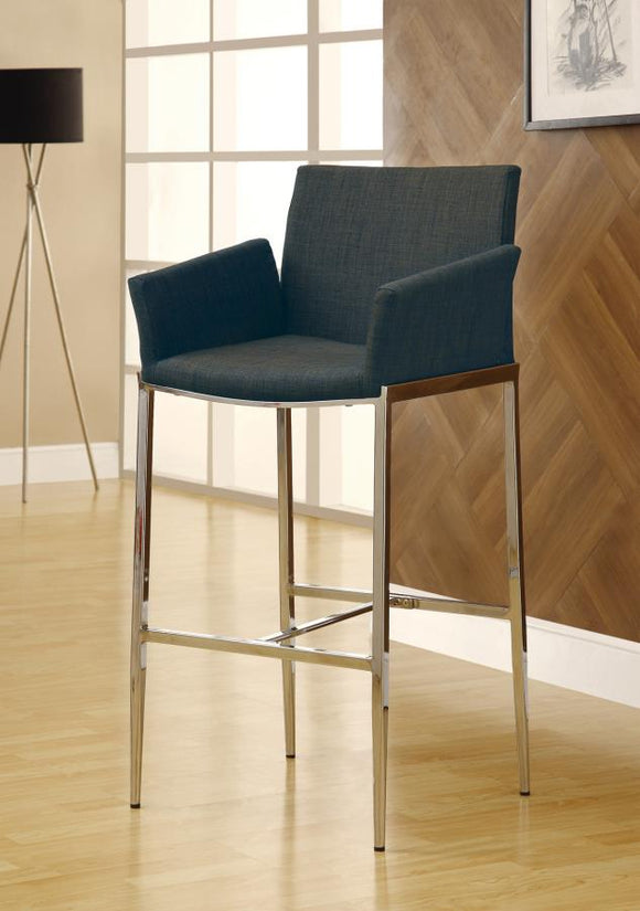 29 Bar Stool (Rec Room/ Bar Tables: Chrome/glass Collection)
