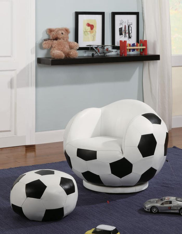Chair (Soccerball Chair/ottoman Collection)