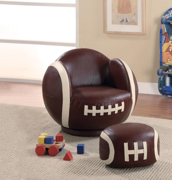 Chair (Football Chair/ottoman Collection)