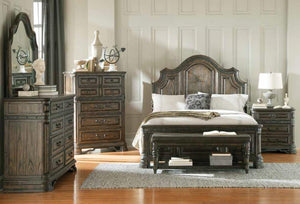 Queen Bed (Carlsbad Bedroom Collection)