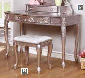 Vanity Desk (Caroline Collection)