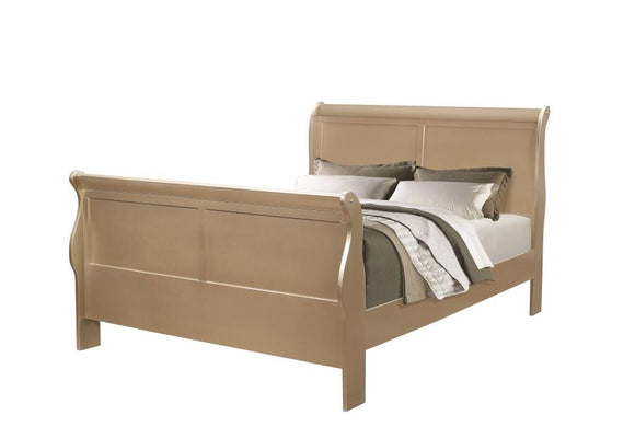 Headboard & Footboard (Hershel Louis Philippe Bedroom Collection)