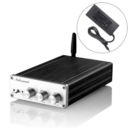 TAS5613 Bluetooth 4.0 300W (150W+75W×2) High Power Class D Digital Amplifier; 2.1 Channel Subwoofer Hi-Fi Audio Amp (with Power Supply)