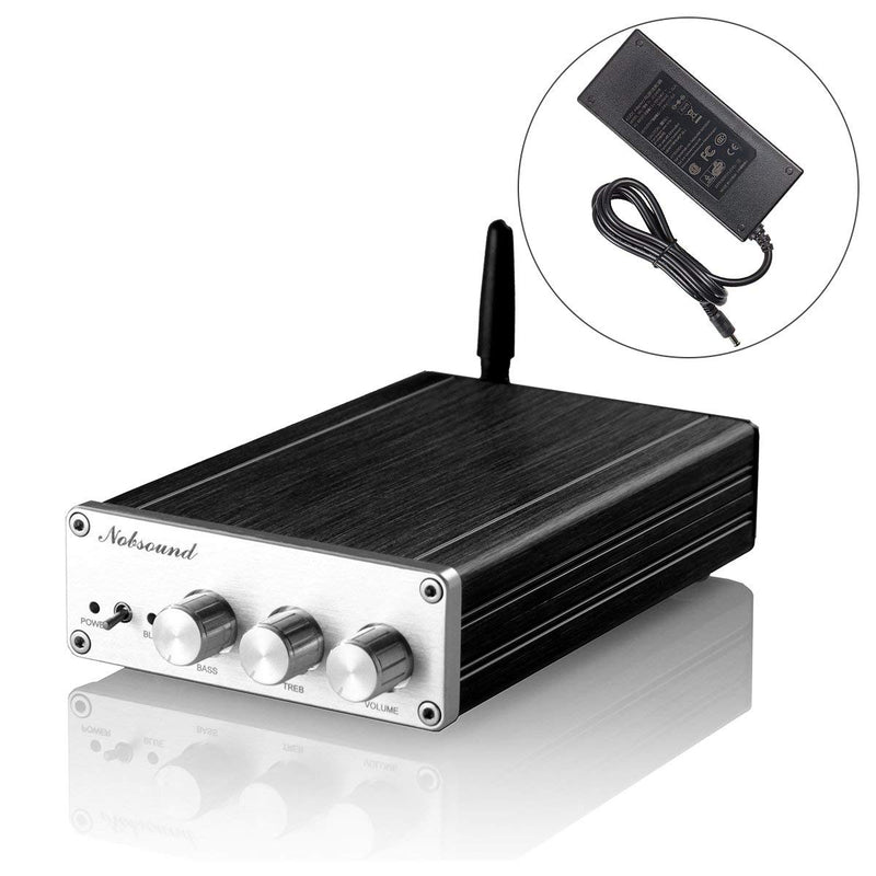TAS5630 Bluetooth 5.0 300W (150W+75W×2) High Power Class D Digital Amplifier; 2.1 Channel Subwoofer Hi-Fi Audio Amp (with Power Supply)