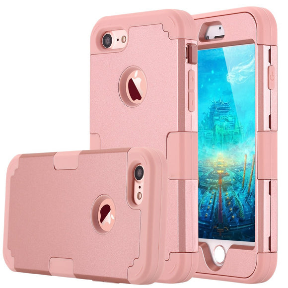 iPhone 7 Hybrid Heavy Duty Shockproof Full-Body Protective Case