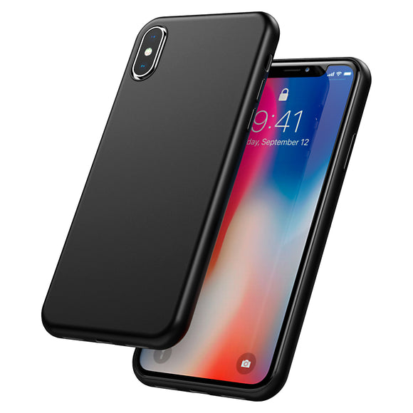 iPhone X Case iPhone 10 Case, CaseSolid Ultra Thin Slim Fit Soft TPU Shock Absorbing Full Protective Anti-Scratch Cover Case for Apple iPhone X / iPhone 10