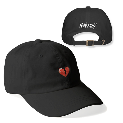 DIGITAL HEART DAD HAT (BLACK)